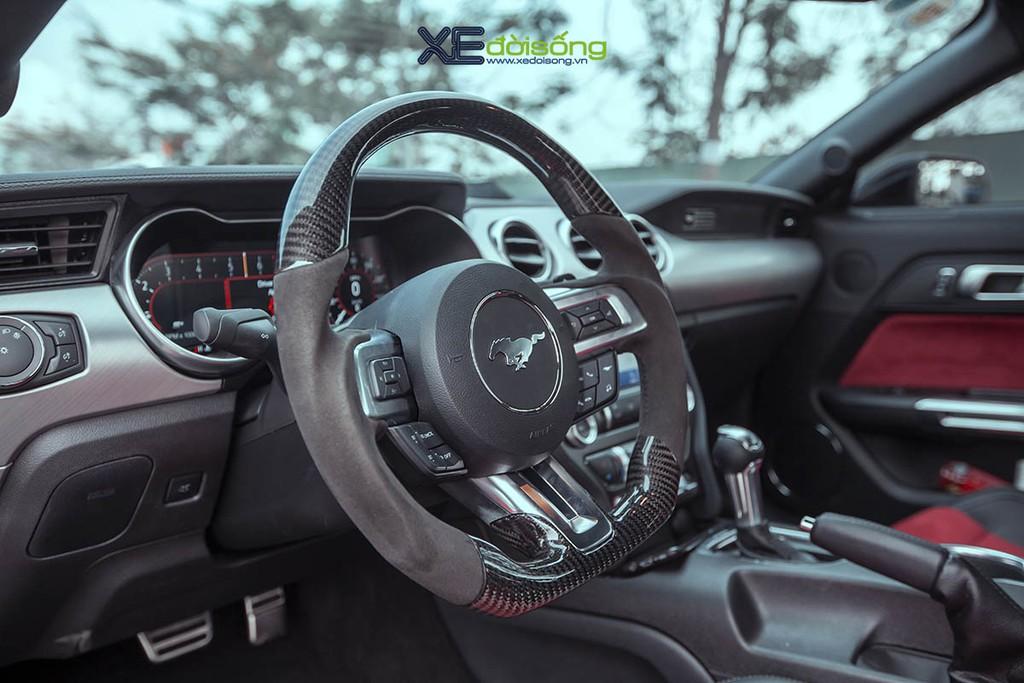 Ford Mustang EcoBoost độ lên Shelby GT500 cực ngầu tại Sài Gòn, cảm giác lái phấn khích hơn ảnh 12