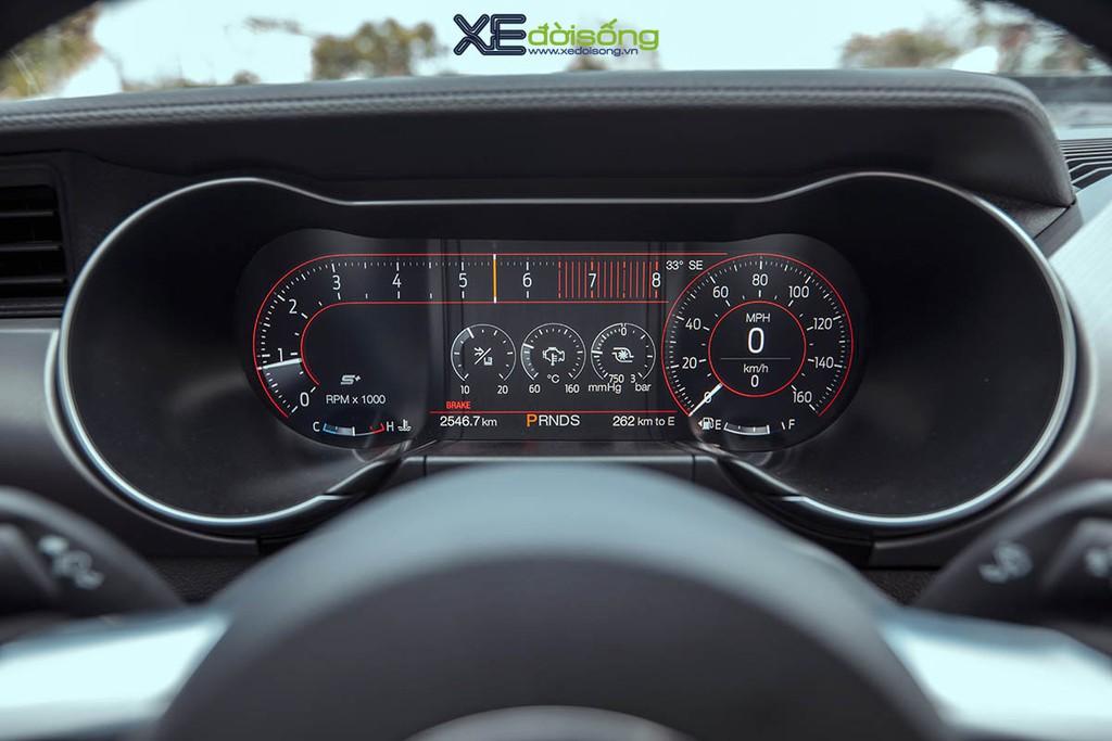 Ford Mustang EcoBoost độ lên Shelby GT500 cực ngầu tại Sài Gòn, cảm giác lái phấn khích hơn ảnh 13