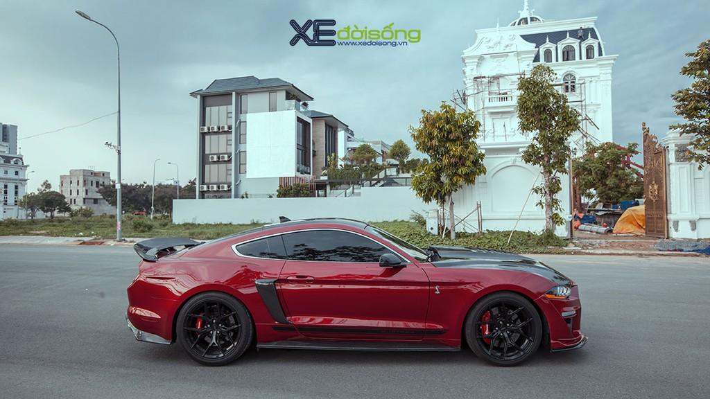 Ford Mustang EcoBoost độ lên Shelby GT500 cực ngầu tại Sài Gòn, cảm giác lái phấn khích hơn ảnh 3