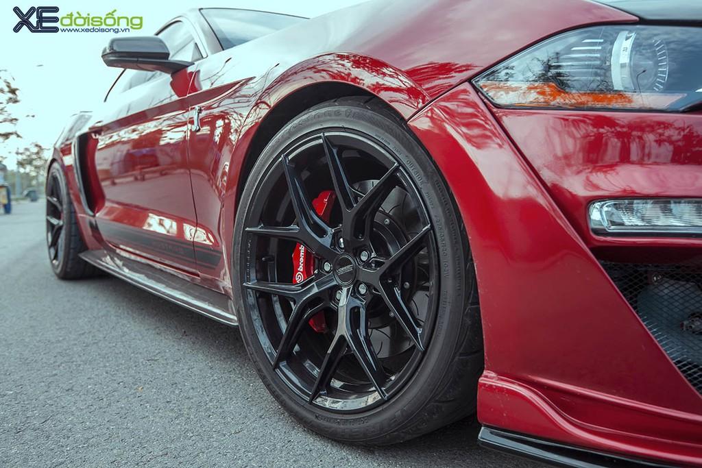 Ford Mustang EcoBoost độ lên Shelby GT500 cực ngầu tại Sài Gòn, cảm giác lái phấn khích hơn ảnh 5