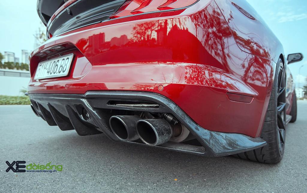 Ford Mustang EcoBoost độ lên Shelby GT500 cực ngầu tại Sài Gòn, cảm giác lái phấn khích hơn ảnh 9