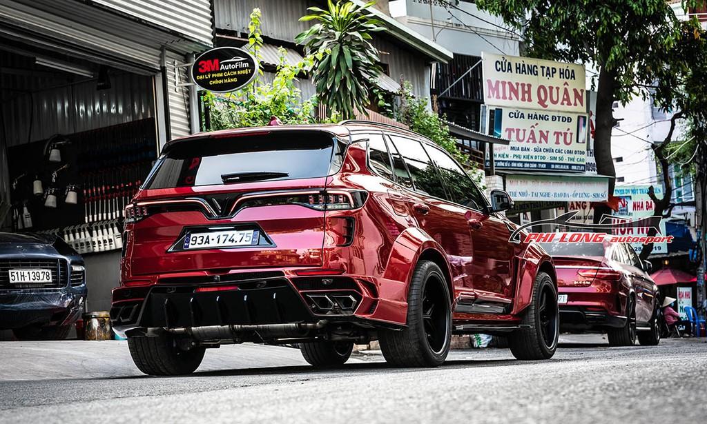 Hội ngộ cặp xe VinFast LUX độ widebody khủng, cùng ra lò từ một xưởng độ có tiếng ở Sài Gòn ảnh 9