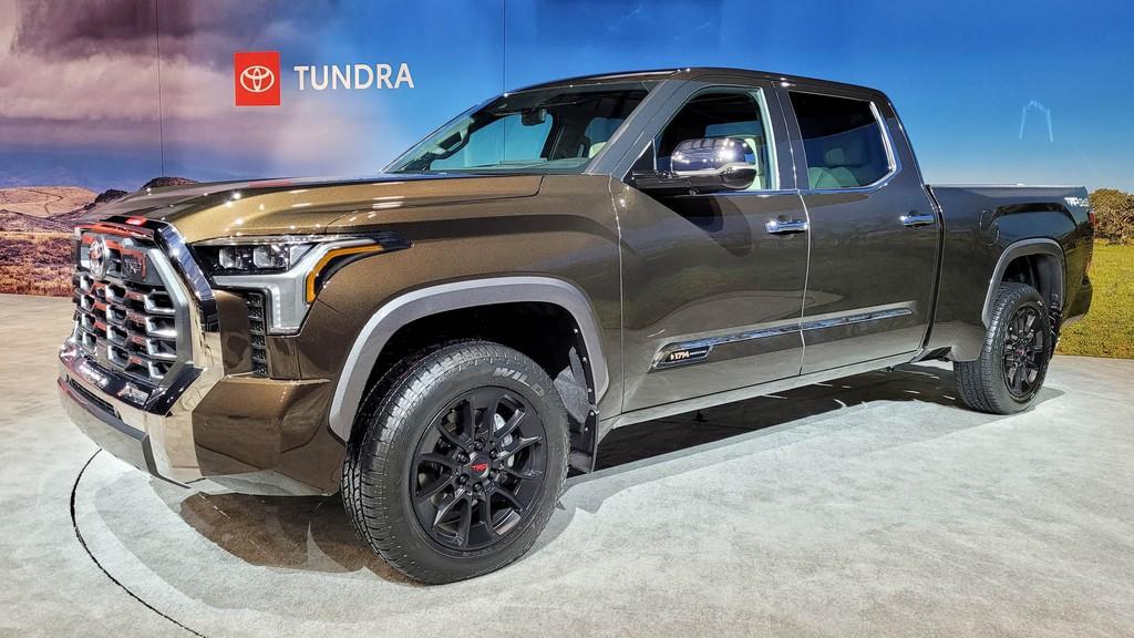 """Cận cảnh bán tải """"full-size"""" Toyota TUNDRA 2022 thế hệ mới vừa ra mắt toàn cầu ảnh 26"""