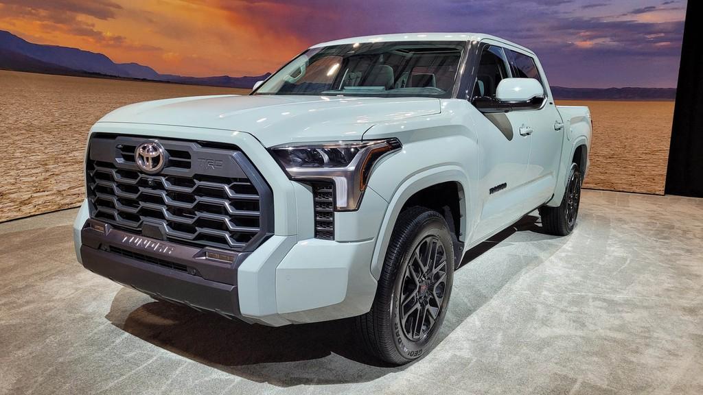 """Cận cảnh bán tải """"full-size"""" Toyota TUNDRA 2022 thế hệ mới vừa ra mắt toàn cầu ảnh 27"""
