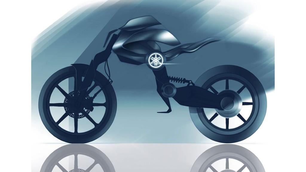 """Bản concept Yamaha Double Y cực """"dị"""" lấy cảm hứng từ bộ môn giải phẫu cơ thể người ảnh 1"""