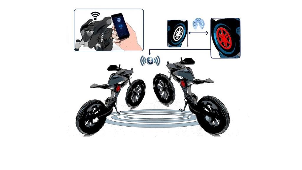 """Bản concept Yamaha Double Y cực """"dị"""" lấy cảm hứng từ bộ môn giải phẫu cơ thể người ảnh 6"""