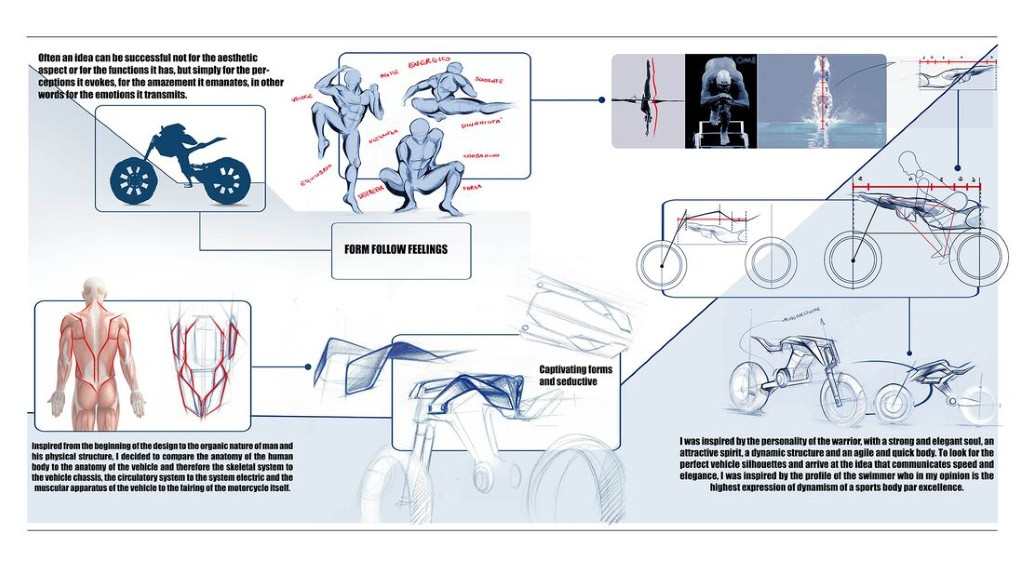 """Bản concept Yamaha Double Y cực """"dị"""" lấy cảm hứng từ bộ môn giải phẫu cơ thể người ảnh 3"""