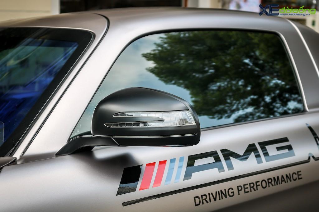 """Siêu xe """"cánh chim"""" Mercedes SLS AMG tại Sài Gòn với nhiều chi tiết mang dấu ấn cá nhân ảnh 11"""