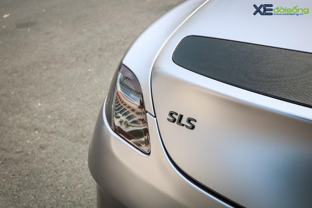 """Siêu xe """"cánh chim"""" Mercedes SLS AMG tại Sài Gòn với nhiều chi tiết mang dấu ấn cá nhân ảnh 13"""