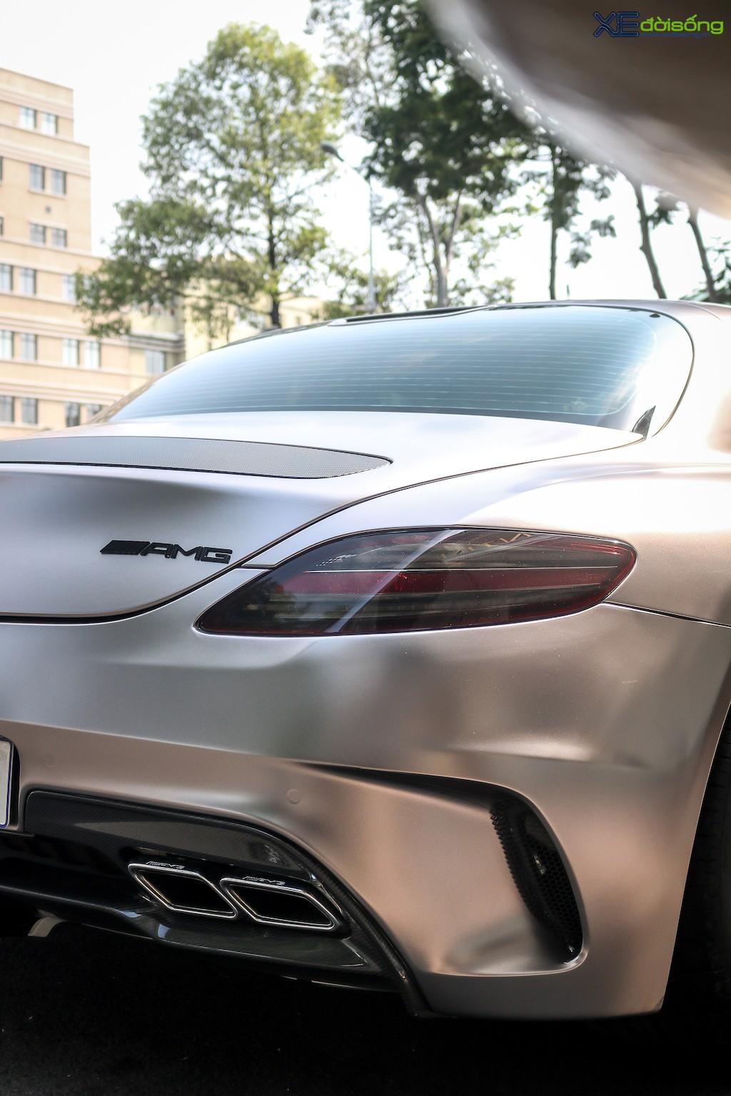 """Siêu xe """"cánh chim"""" Mercedes SLS AMG tại Sài Gòn với nhiều chi tiết mang dấu ấn cá nhân ảnh 14"""