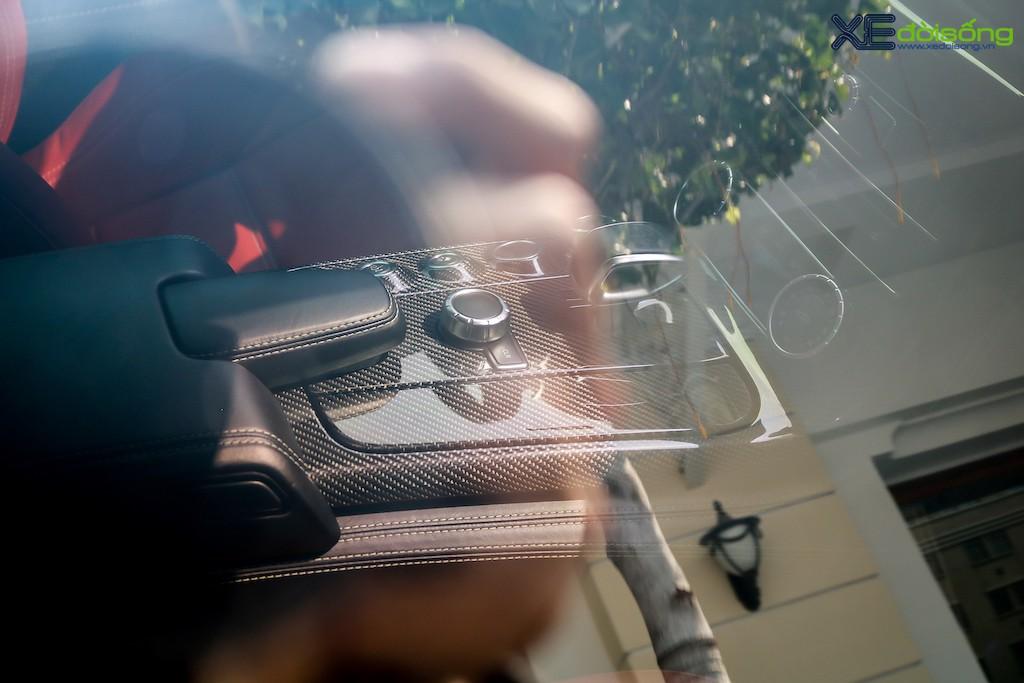 """Siêu xe """"cánh chim"""" Mercedes SLS AMG tại Sài Gòn với nhiều chi tiết mang dấu ấn cá nhân ảnh 16"""