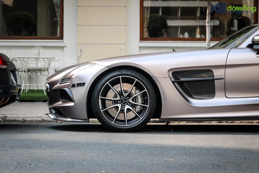 """Siêu xe """"cánh chim"""" Mercedes SLS AMG tại Sài Gòn với nhiều chi tiết mang dấu ấn cá nhân ảnh 4"""