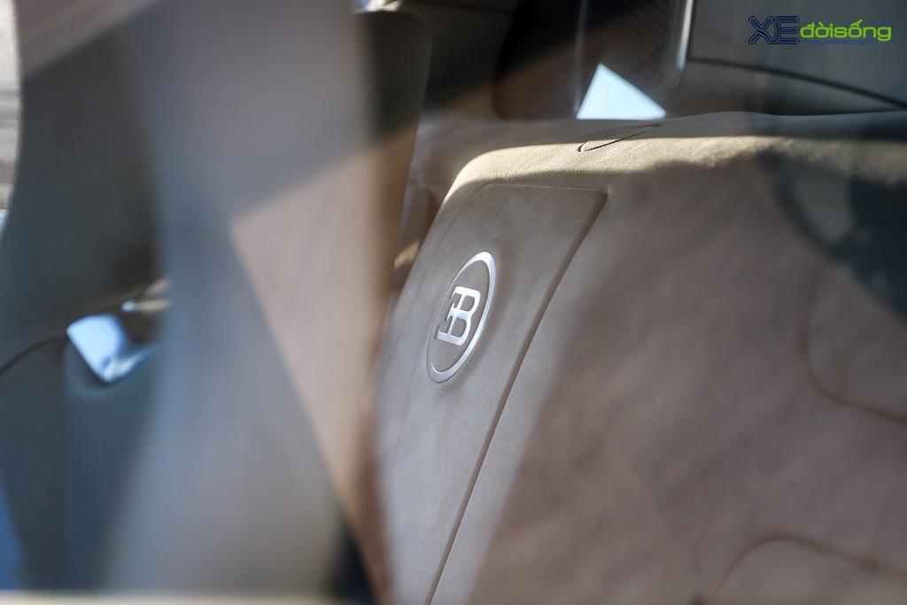 """Khám phá từng ngóc ngách """"ông hoàng tốc độ"""" Bugatti Veyron 16.4 độc nhất Việt Nam ảnh 25"""