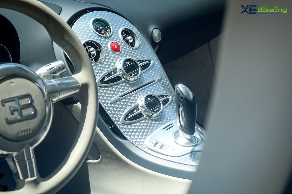 """Khám phá từng ngóc ngách """"ông hoàng tốc độ"""" Bugatti Veyron 16.4 độc nhất Việt Nam ảnh 16"""