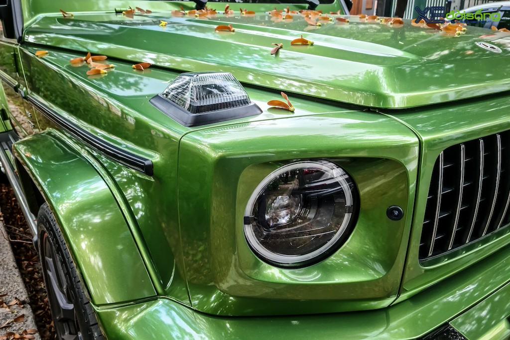"""""""Mát mắt"""" khi nhìn SUV hàng hot Mercedes-AMG G 63 Edition 1 màu cực nổi trên phố Sài Gòn ảnh 5"""