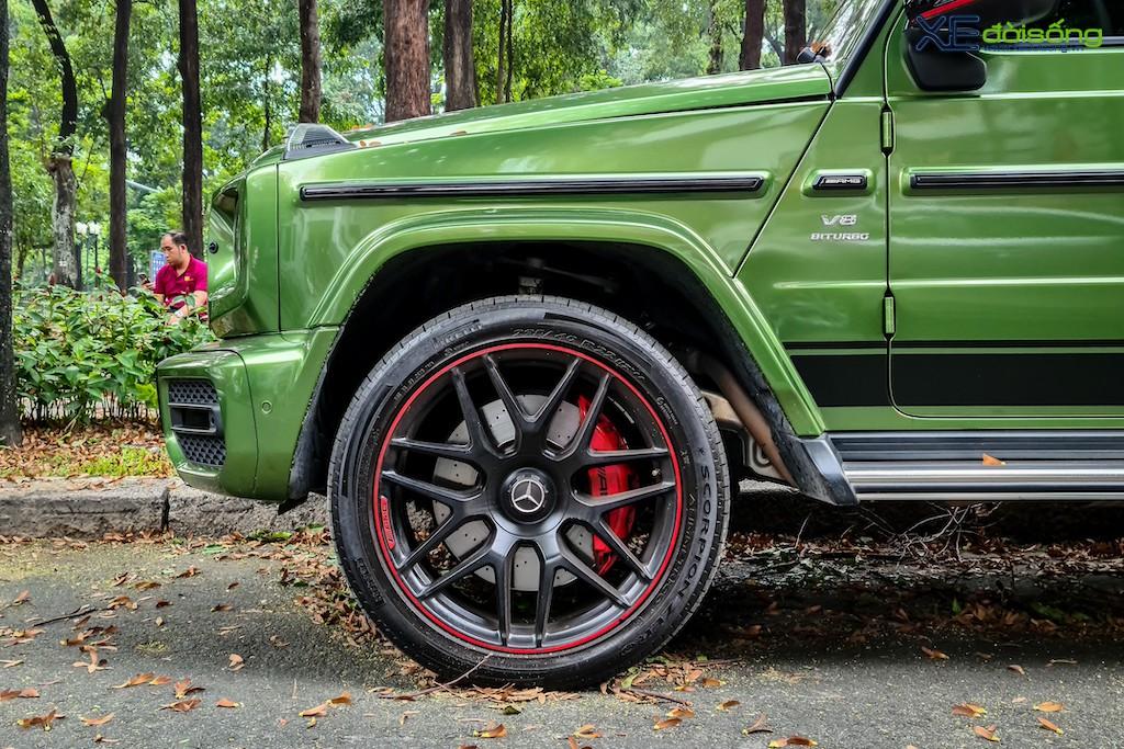 """""""Mát mắt"""" khi nhìn SUV hàng hot Mercedes-AMG G 63 Edition 1 màu cực nổi trên phố Sài Gòn ảnh 6"""
