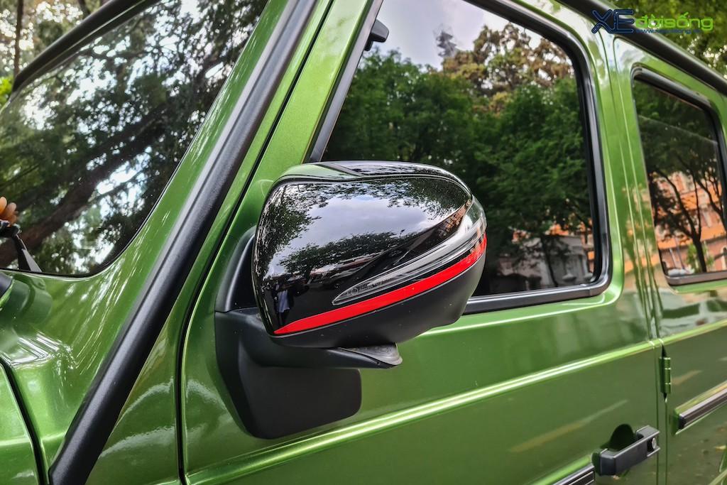 """""""Mát mắt"""" khi nhìn SUV hàng hot Mercedes-AMG G 63 Edition 1 màu cực nổi trên phố Sài Gòn ảnh 7"""