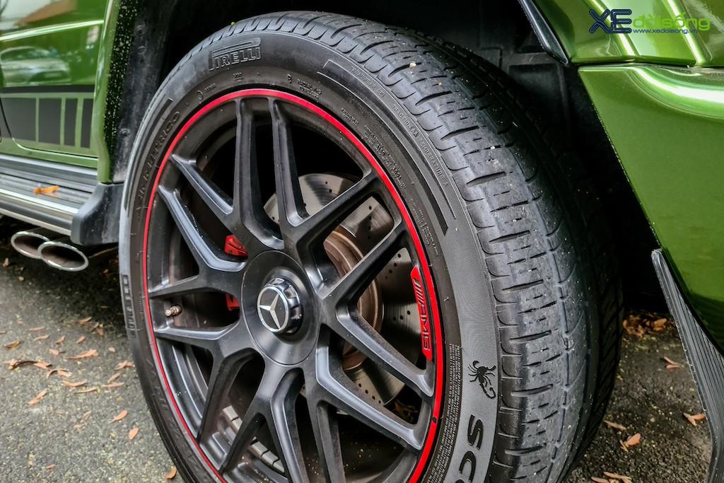 """""""Mát mắt"""" khi nhìn SUV hàng hot Mercedes-AMG G 63 Edition 1 màu cực nổi trên phố Sài Gòn ảnh 8"""