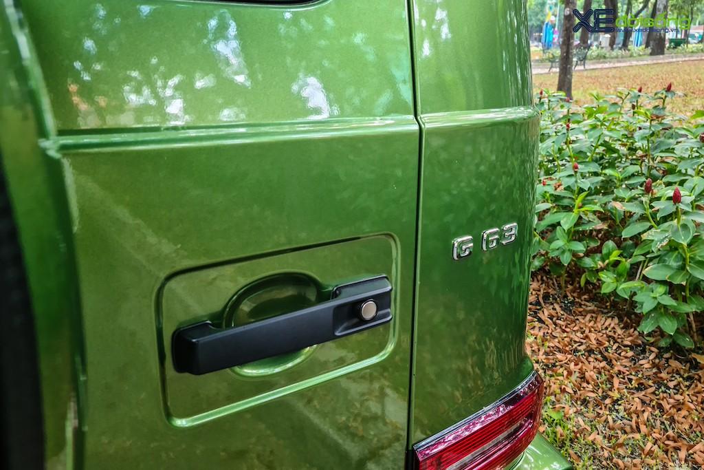 """""""Mát mắt"""" khi nhìn SUV hàng hot Mercedes-AMG G 63 Edition 1 màu cực nổi trên phố Sài Gòn ảnh 9"""