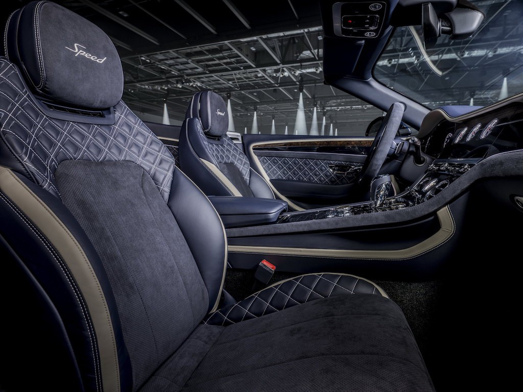 Vừa tung ra siêu coupe hạng sang Continental GT Speed, Bentley lại