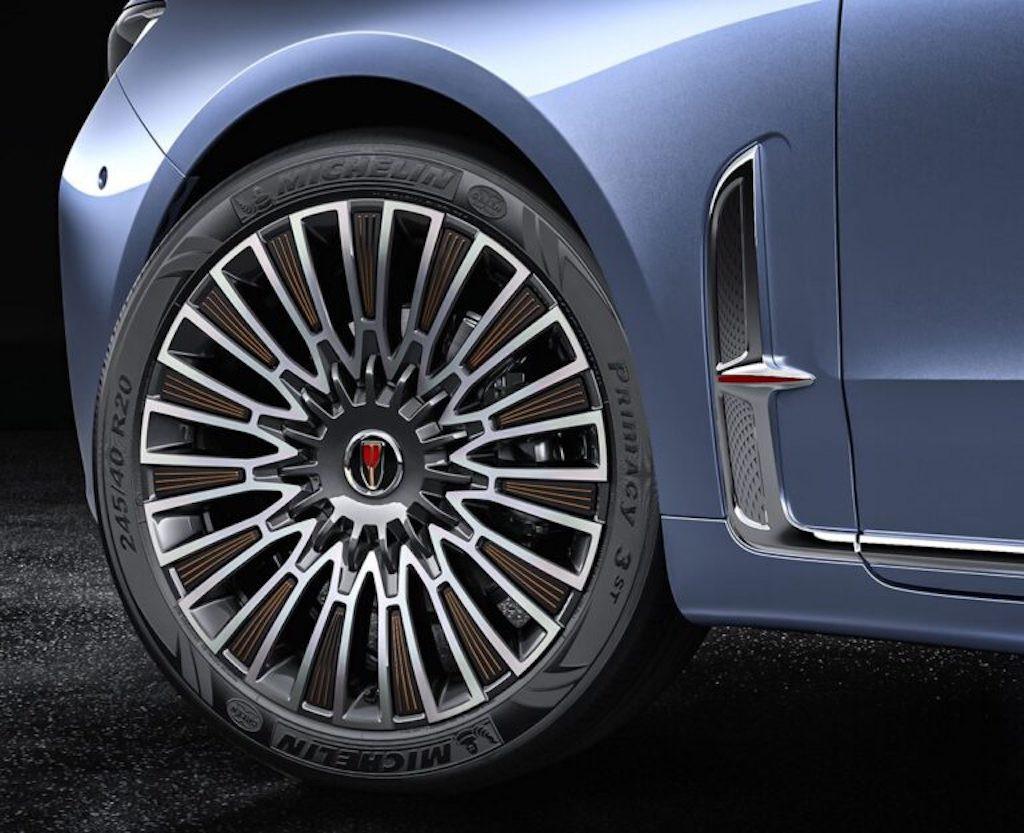 Cửa nào để xe siêu sang Trung Quốc Hongqi H9+ cạnh tranh với những Maybach hay Bentley? ảnh 9