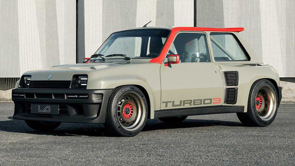 """Lại có thêm huyền thoại rally thập niên 80 được """"hồi sinh"""", lần này dựa trên hatchback hạng B rẻ tiền nhà Renault ảnh 1"""