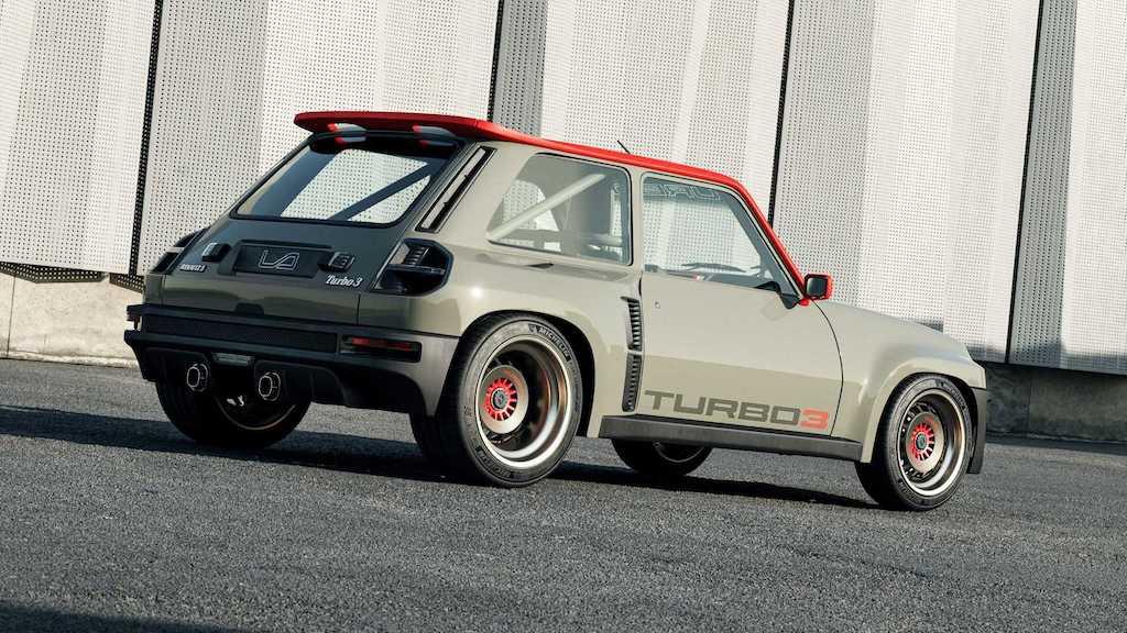 """Lại có thêm huyền thoại rally thập niên 80 được """"hồi sinh"""", lần này dựa trên hatchback hạng B rẻ tiền nhà Renault ảnh 2"""
