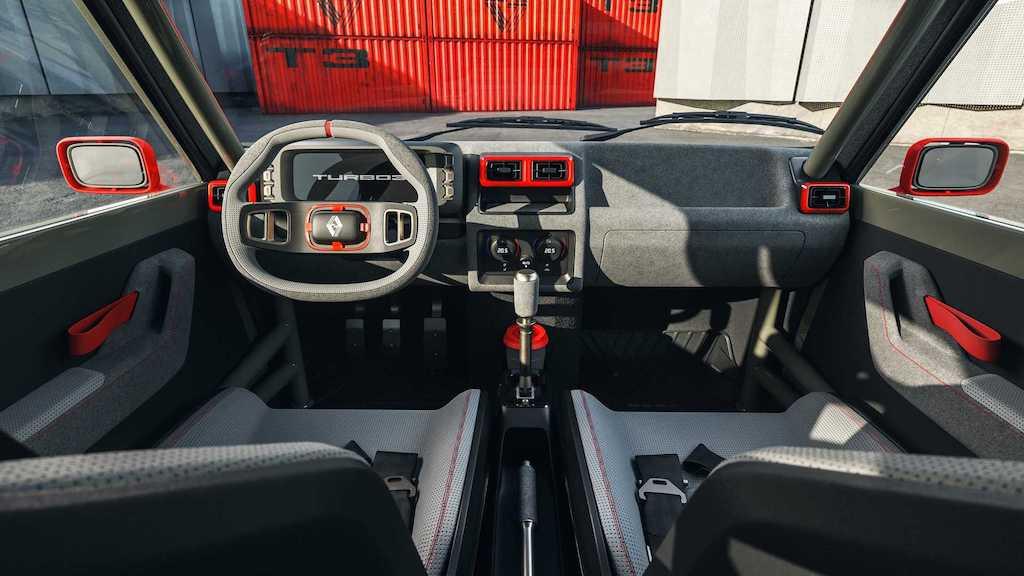 """Lại có thêm huyền thoại rally thập niên 80 được """"hồi sinh"""", lần này dựa trên hatchback hạng B rẻ tiền nhà Renault ảnh 4"""