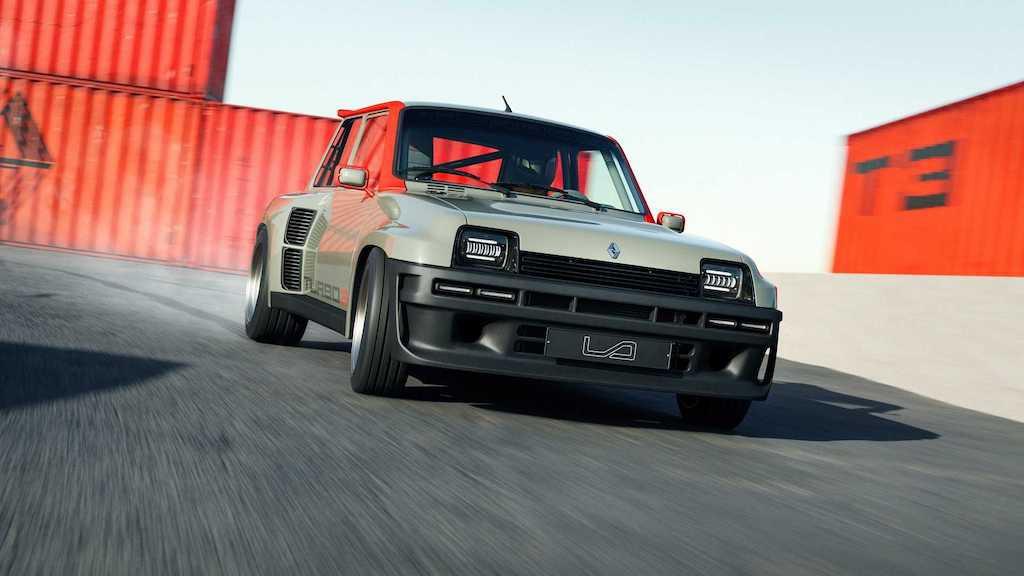 """Lại có thêm huyền thoại rally thập niên 80 được """"hồi sinh"""", lần này dựa trên hatchback hạng B rẻ tiền nhà Renault ảnh 8"""
