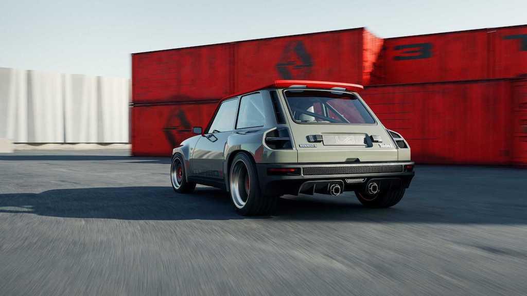 """Lại có thêm huyền thoại rally thập niên 80 được """"hồi sinh"""", lần này dựa trên hatchback hạng B rẻ tiền nhà Renault ảnh 9"""