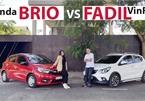 Tài chính 450 triệu, chọn Honda Brio RS hay ủng hộ xe Việt - Vinfast Fadil?!
