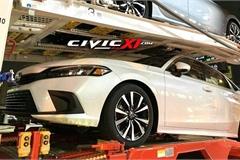 Lộ diện Honda Civic thế hệ mới bản sản xuất trên đường vận chuyển