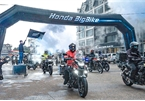 """50 """"chiến mã"""" PKL Honda tham gia hành trình chinh phục Cực Bắc"""