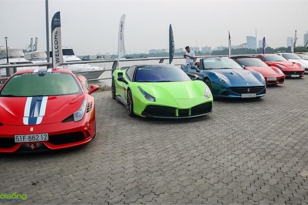 Danh sách 24 siêu xe Ferrari tại Việt Nam nằm trong diện triệu hồi chính hãng