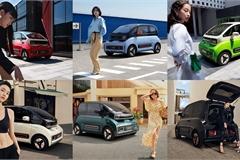 Ngắm xe điện KiWi EV cá tính với 6 phong cách thời trang ấn tượng