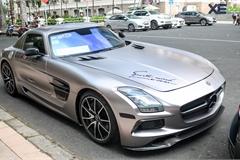 """Siêu xe """"cánh chim"""" Mercedes SLS AMG tại Sài Gòn với nhiều chi tiết dấu ấn cá nhân"""