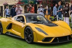 """Chiêm ngưỡng siêu phẩm hypercar Mỹ Hennessey Venom F5 thứ 2 """"ra lò"""", nổi bật bởi màu vàng óng ả"""
