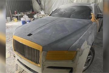 Sau Lexus hay Mercedes, thợ độ Việt còn 'nhá hàng' cả xe siêu sang Rolls-Royce Ghost lên đời