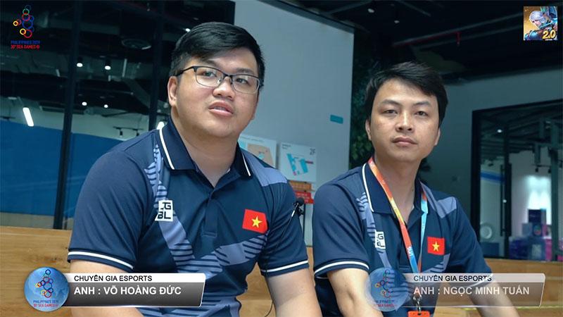 Hai chuyên gia eSports dẫn đoàn Mobile Legends: Bang Bang Việt Nam đi thi đấu SEA Games