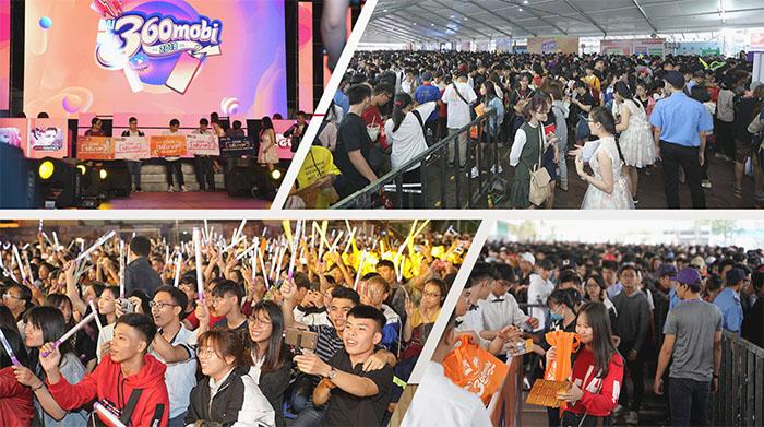 Số lượng người tham gia đại hội tăng lên theo từng mùa tổ chức. Đại hội 360mobi 2020 mở cửa tự do đón 70K người tham dự