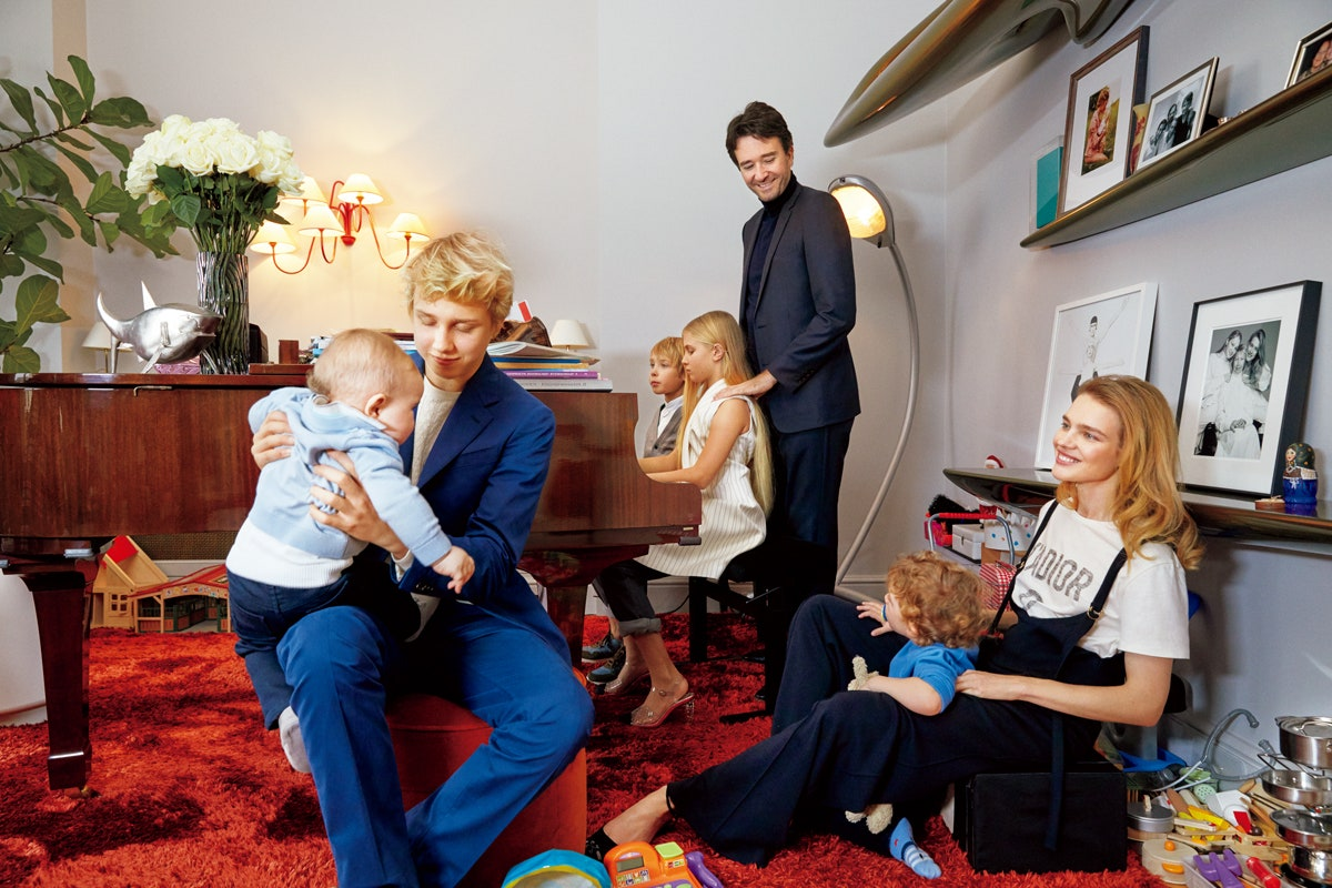 Antoine Arnault rất quan tâm đến các con riêng của vợ