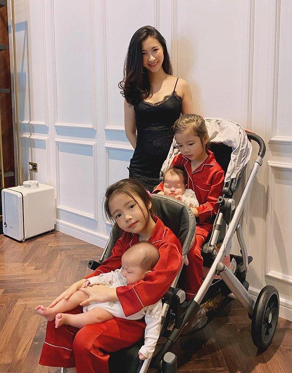 """Làm nghề """"ở nhà chăm con"""" giặt giũ cơm nước, mẹ 4 con vẫn xách túi Hermès, váy thướt tha - Ảnh 8."""