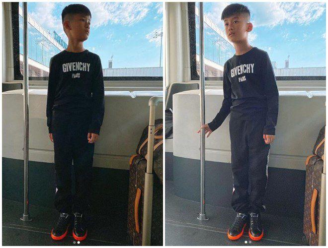 Con trai Lệ Quyên mới 9 tuổi cao gần bằng mẹ, thổ lộ muốn có em để chơi cùng - Ảnh 3.