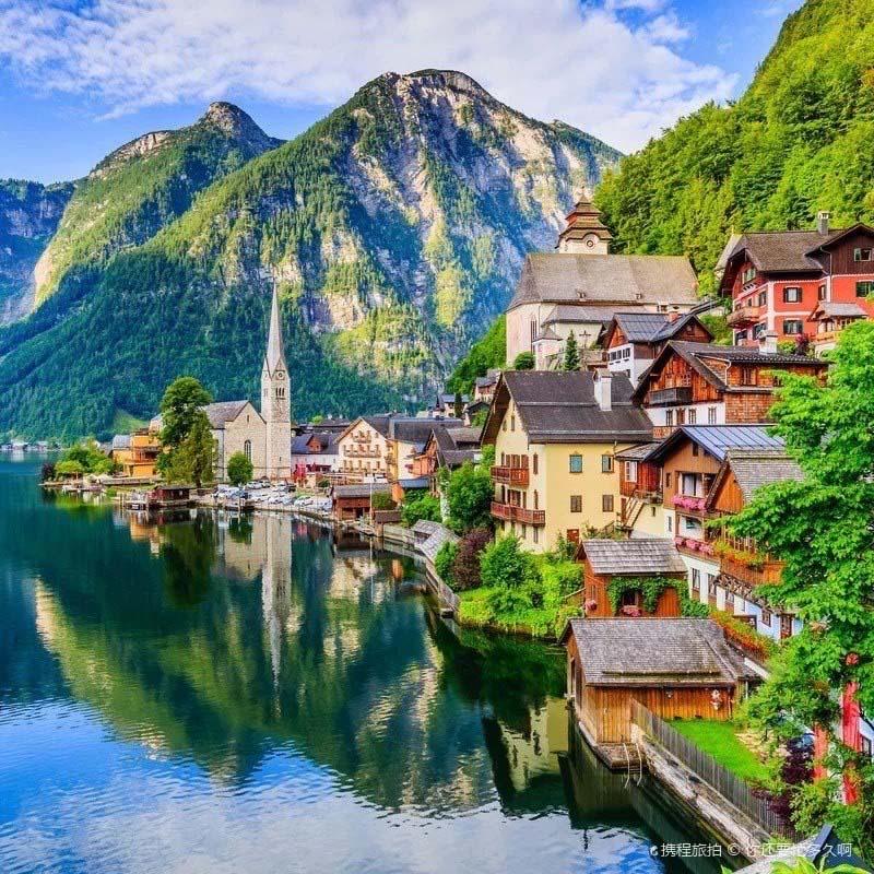 Mê mẩn lạc bước trong thị trấn được xem là đẹp nhất thế giới - Ảnh 1.