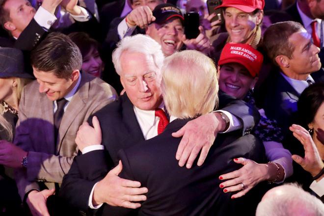 Cảm động về tình anh em của Tổng thống Mỹ Donald Trump - Ảnh 3.