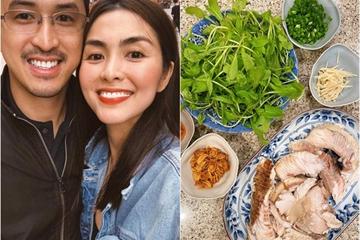 """Dàn sao Việt tấm tắc trước món cháo """"nấu đại"""" của Tăng Thanh Hà"""