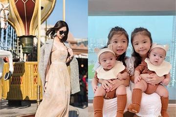 """Làm nghề """"ở nhà chăm con"""" giặt giũ cơm nước, mẹ 4 con vẫn xách túi Hermès, váy thướt tha"""