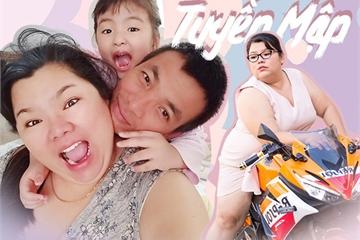 Hậu đám cưới với chồng kém 40kg, 5 năm qua Tuyền Mập vẫn một mình nuôi con, từng muốn ly hôn