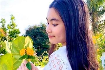 """12 tuổi, con gái Quyền Linh vẫn đứng """"canh"""" bố mẹ tắm vì một nỗi sợ"""
