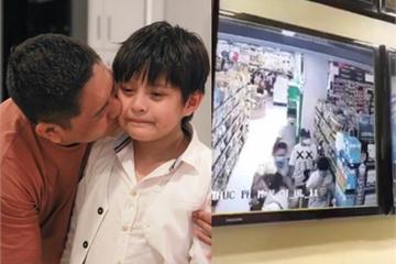 Con trai bị dàn cảnh cướp điện thoại giữa siêu thị, Đức Thịnh tức tốc điều tra
